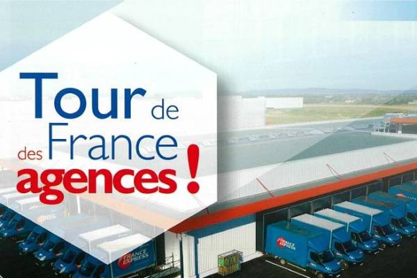TOUR DE FRANCE DES AGENCES FRANCE EXPRESS